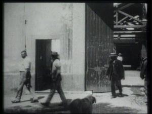 """""""Arbeiter verlassen die Fabrik"""" (1995)"""